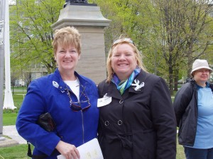 Dr Alison Bested, MD, FRCPC and Jeanne Samonas, May 12th Chairperson